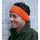 Fleece Stirnband orange